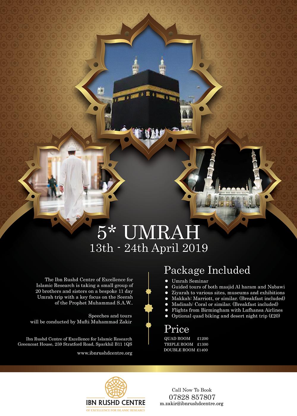 5* Umrah Package